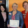 Bernie Koprince wins Graduate Student Senate Staff of the Year Award