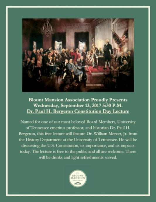 2017 Constitution Day Lecture