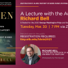Upcoming Events: 2021 Milton Klein Lecture Series with Richard Bell on March 30.