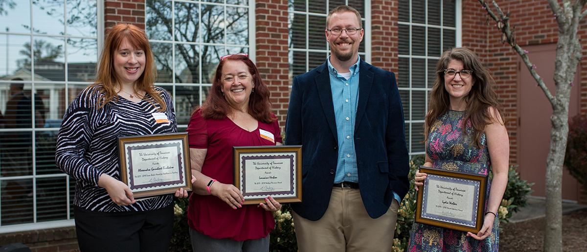 2018 Graduate Students Award Winners