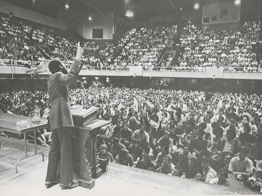 Dick Gregory at UT