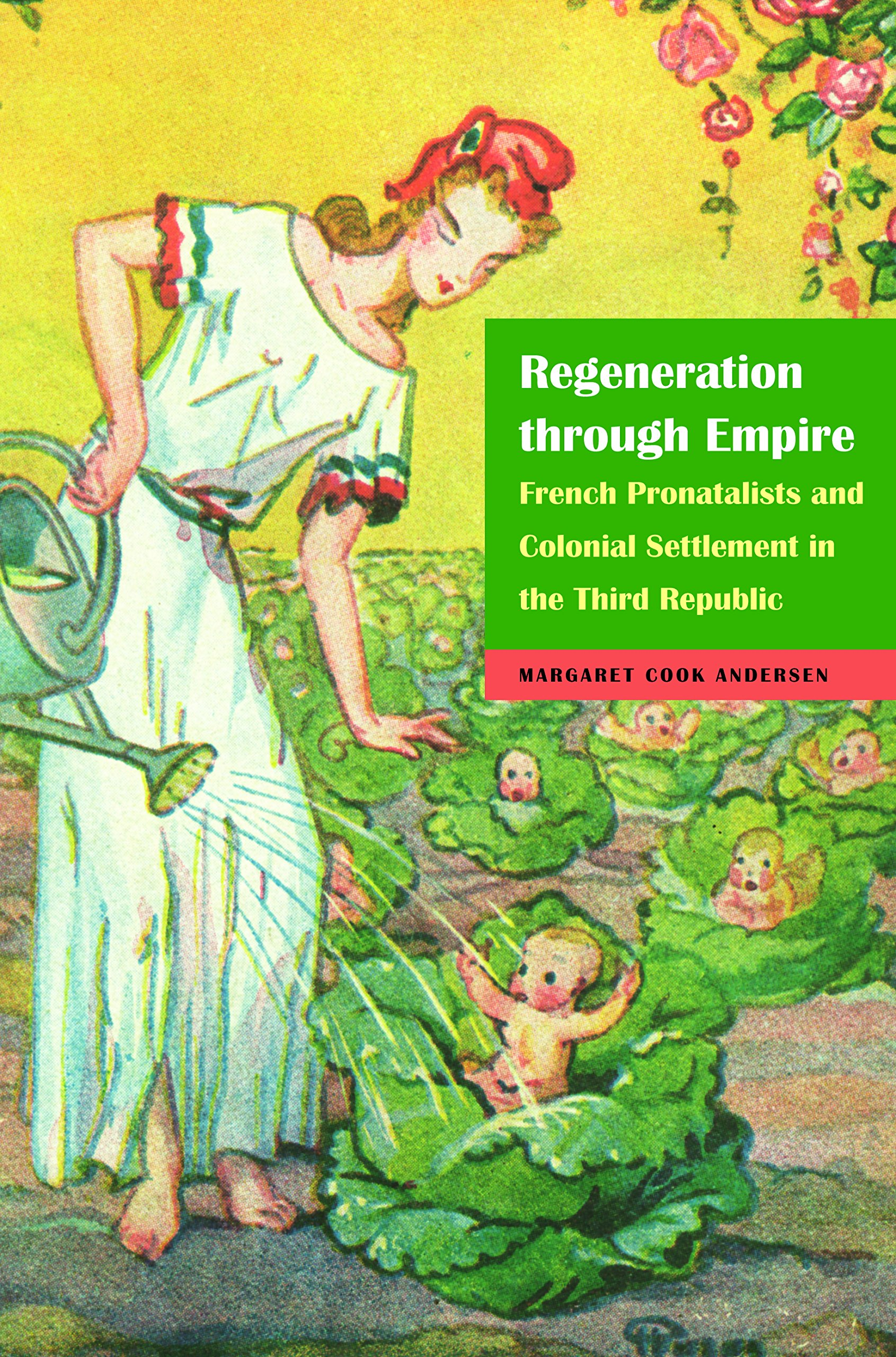 - Margaret Andersen is associate professor of history at UT, and author of Regeneration through Empire: French Pronatalists and Colonial Settlement in the Third Republic (University of Nebraska Press, 2015).