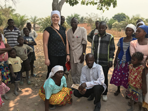 Nikki Eggers has been conducting research in the Democratic Republic of Congo
